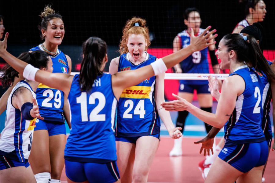 Italia Belgio oggi, Nations League volley femminile: orario, tv, programma, streaming