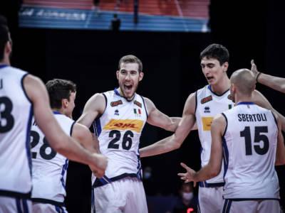 Volley, Nations League: Italia-Olanda 3-1, Michieletto e Pinali vincono la sfida con Abdel-Aziz