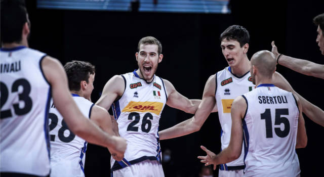 Italia-Russia oggi, Nations League volley 2021: orario, tv, programma, streaming