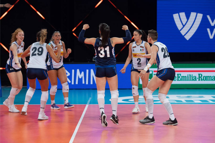 Italia Cina oggi, Nations League volley femminile: orario, tv, programma, streaming