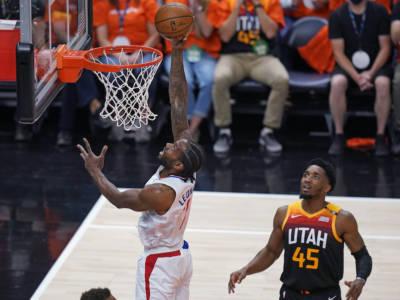 Playoff NBA 2021, i risultati della notte (13 giugno): i Los Angeles Clippers battono gli Utah Jazz. Leonard riapre la serie
