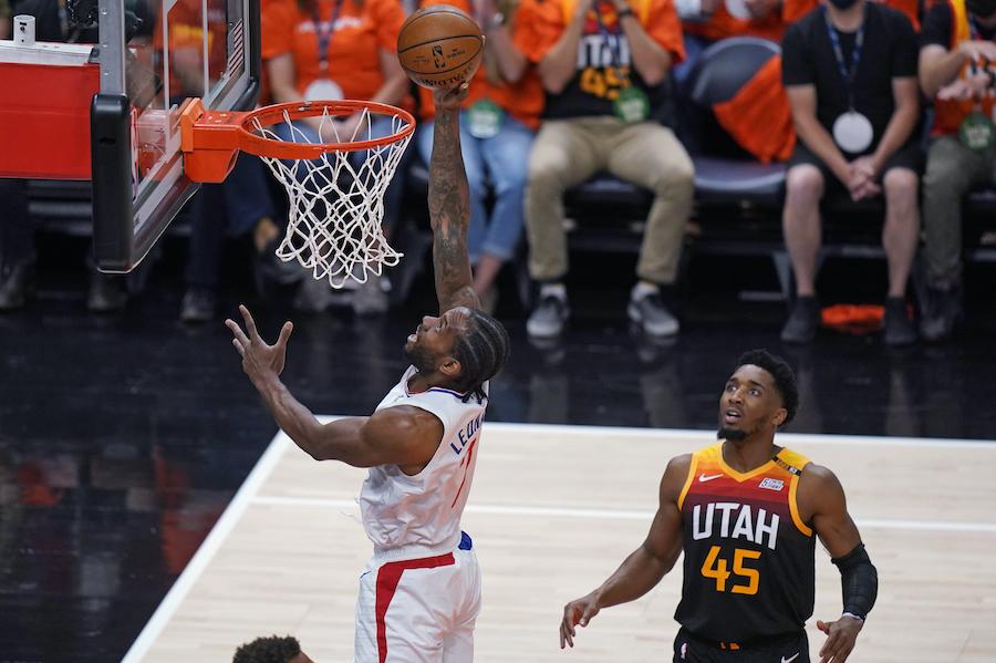 Playoff NBA 2021, I risultati della notte ( giugno): i Los Angeles Clippers battono gli Utah Jazz. Leonard riapre la serie