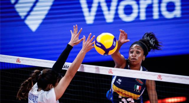Volley femminile, Nations League: Italia-Thailandia 3-1, le azzurre chiudono con una vittoria. Omoruyi 33 punti