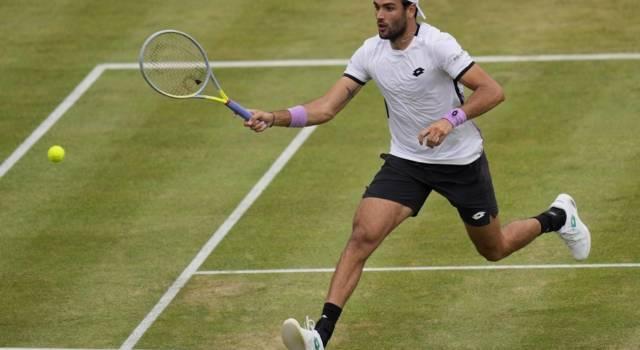 Matteo Berrettini, secondo turno Wimbledon: prossimo avversario, programma, orario, tv e precedenti