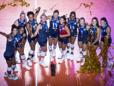 Volley, Nations League femminile: gli USA vincono 3-1 la finale contro il Brasile