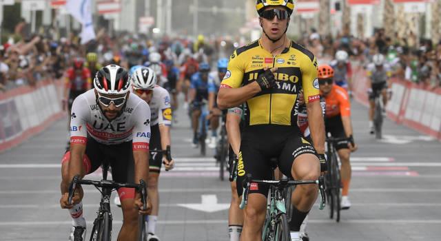 Giro di Vallonia 2021, Dylan Groenewegen torna alla vittoria dopo diciassette mesi. Buoni segnali da Andrea Bagioli