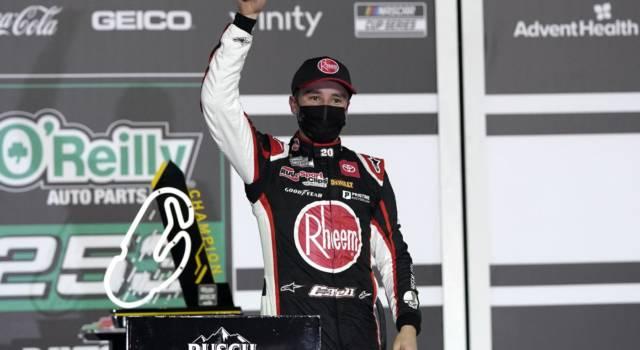NASCAR Xfinity Series, Christopher Bell domina a Loudon