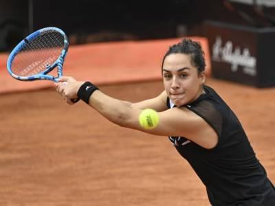 Tennis, WTA Belgrado 2021: Martina Trevisan si arrende ai quarti contro Arantxa Rus