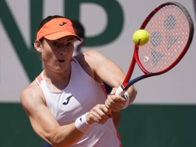 WTA Portorose 2021, Cristiana Ferrando eliminata dalla slovena Tamara Zidansek