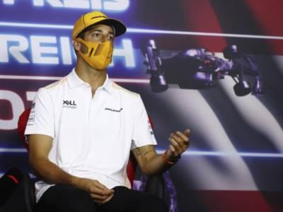"""F1, Daniel Ricciardo: """"Sono soddisfatto del quinto posto, la Ferrari è più veloce della McLaren"""""""