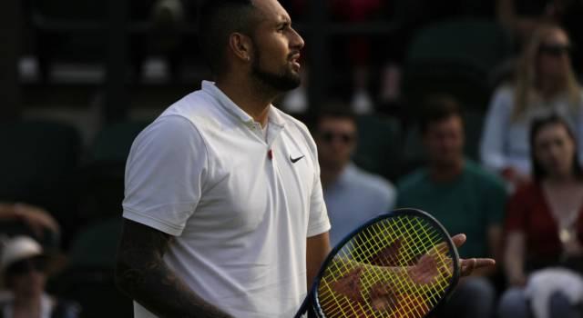 """Tennis, Nick Kyrgios: """"Federer, Djokovic e Nadal compaiono una volta ogni 10 anni. C'è bisogno anche di persone con cui entrare in empatia"""""""