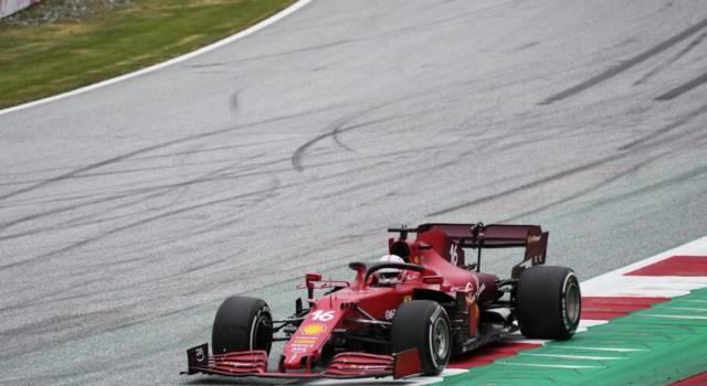 F1, GP Austria 2021. Squillo Ferrari! Charles Leclerc 2° e Carlos Sainz 3° nella FP1. Verstappen il migliore