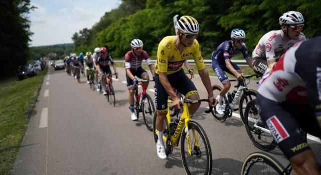 VIDEO Tour de France, highlights settima tappa. Nibali in fuga con van der Poel e van Aert. Classifica ribaltata, Roglic in crisi