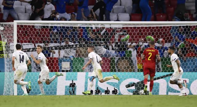 Calcio, l'Italia batte il Belgio per 2-1 e va in semifinale agli Europei!