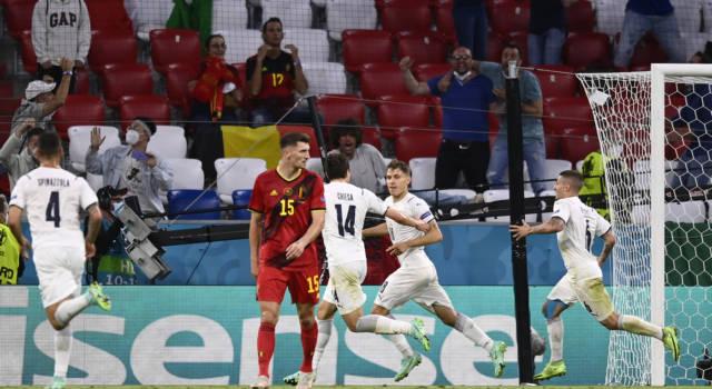 VIDEO Italia-Belgio 2-1: highlights e sintesi Europei 2021. Decisivi Barella ed Insigne