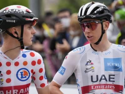 Tour de France 2021, Tadej Pogacar rifila minuti a grappoli a tutti e ipoteca la vittoria finale. Tappa a Teuns