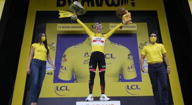 Tour de France, domani la cronometro finale: Pogacar ha già vinto, sfida tra Carapaz e Vingegaard