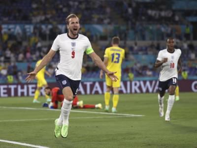 Inghilterra-Ucraina 4-0, Europei 2021: doppietta di Kane, Maestri in semifinale contro la Danimarca
