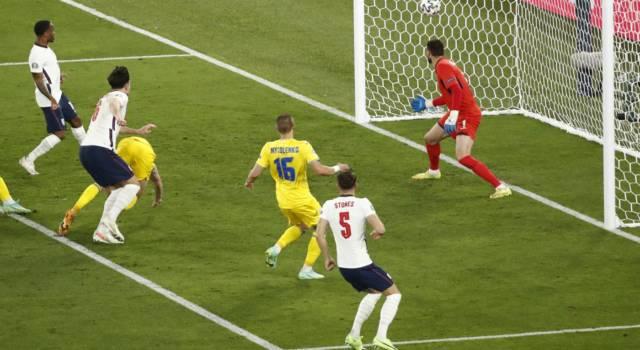 VIDEO Ucraina-Inghilterra 0-4: highlights e sintesi Europei 2021. Doppietta di Kane