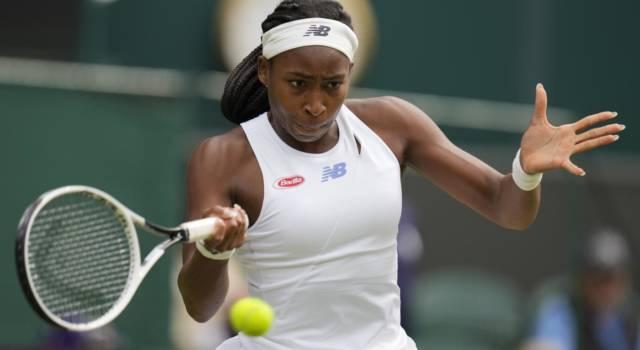 Tennis: Coco Gauff positiva al Covid-19, è obbligata a saltare le Olimpiadi di Tokyo