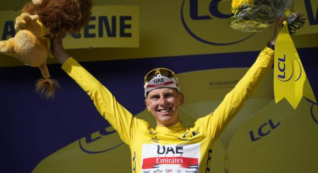 Classifica Tour de France 2021, 16ma tappa: Pogacar leader, Cattaneo perde una posizione