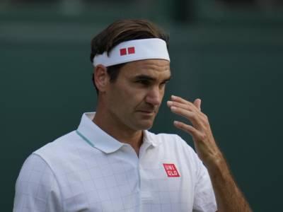 """Tennis, Roger Federer si deve operare al ginocchio: """"Resterò fuori molti mesi"""""""