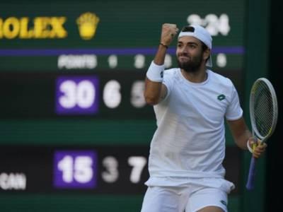 """Wimbledon 2021, Matteo Berrettini: """"Adesso è tutta una cosa pazza, abbiamo giocato una grande partita. Ho fiducia"""""""