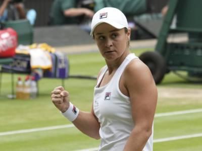 Ranking WTA (12 luglio): Ashleigh Barty sempre più leader, Camila Giorgi n.1 italiana
