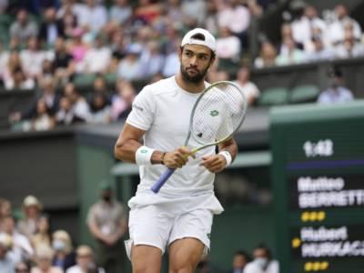 """Tennis, Matteo Berrettini: """"A Tokyo sarei andato anche rotto, Parigi 2024 è un mio obiettivo"""""""