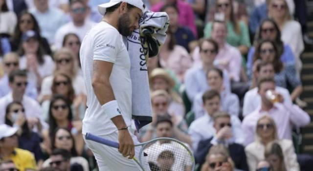 Ranking ATP (19 luglio 2021), Matteo Berrettini ottavo nonostante lo stop. Esce dai 100 Salvatore Caruso