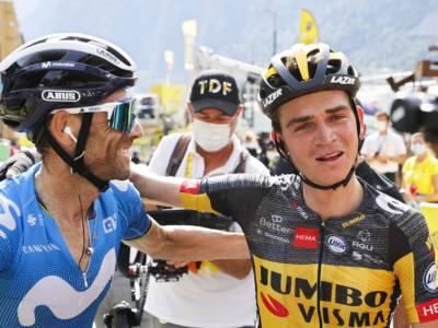 """Tour de France 2021, Alejandro Valverde: """"Sono contento del secondo posto, ma avrei preferito vincere"""""""