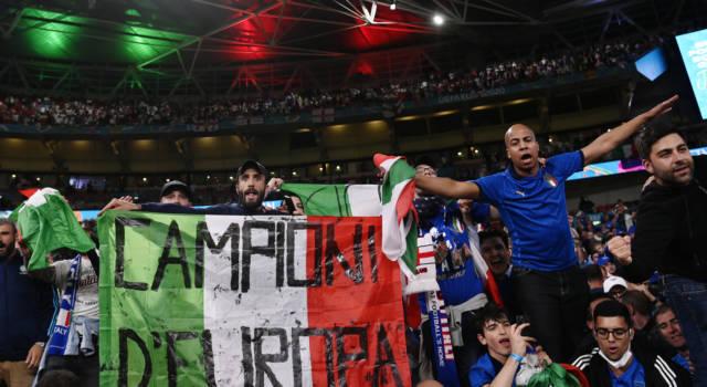 VIDEO Italia-Inghilterra 4-3 dcr: la premiazione. Azzurri campioni d'Europa!