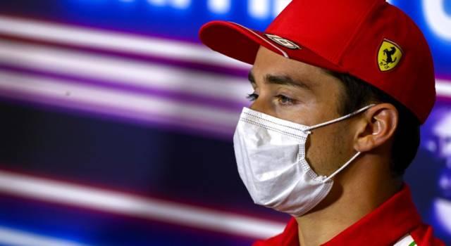 """F1, Charles Leclerc: """"Passo buono. Domani il podio? Tutto è possibile, se facciamo una buona partenza…"""""""