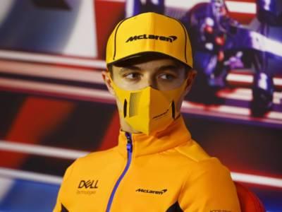 """F1, Lando Norris: """"Abbiamo avuto alti e bassi, c'è molto a cui pensare"""""""