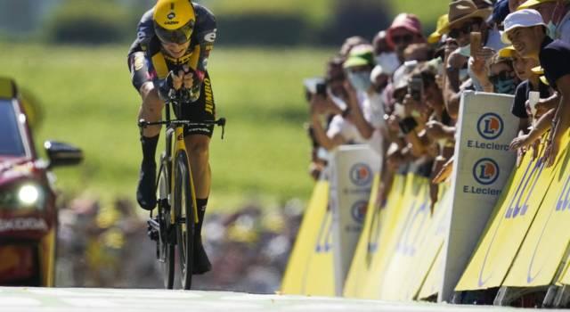 Ciclismo, Wout Van Aert spaventa Filippo Ganna. E il percorso della cronometro delle Olimpiadi sarà impegnativo…