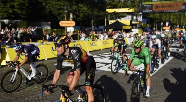 Tour de France 2021, Mark Cavendish resta chiuso in volata e non supera il record di Merckx