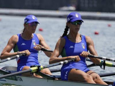Canottaggio, Olimpiadi Tokyo: il doppio senior femminile di Alessandra Patelli e Chiara Ondoli chiude nono