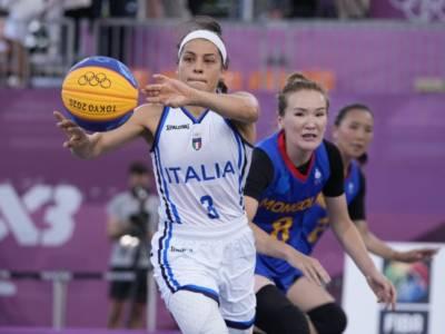 LIVE Italia-Romania, Olimpiadi basket 3×3 in DIRETTA: D'Alie trascina le azzurre al secondo successo!