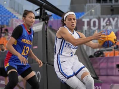 LIVE Italia-Giappone 10-22, Olimpiadi Basket 3×3 in DIRETTA: le azzurre non possono nulla contro le padrone di casa