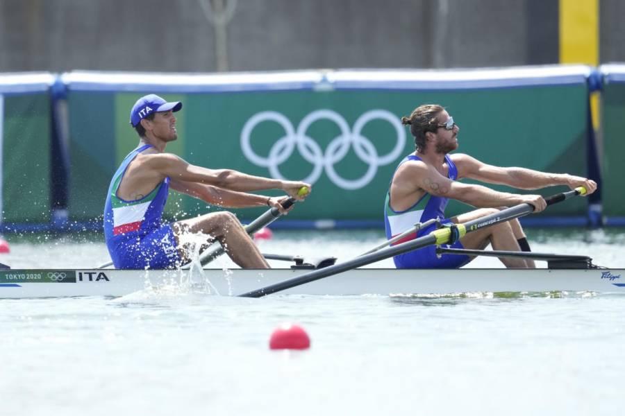 Canottaggio, Olimpiadi Tokyo: il due senza senior maschile di Giovanni Abagnale e Vincenzo Abbagnale è 11°