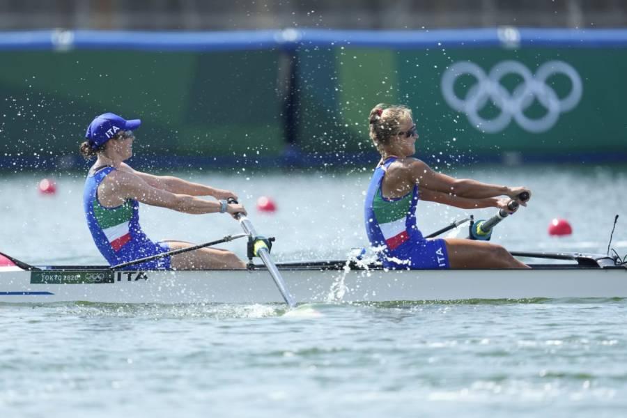 Canottaggio, Olimpiadi Tokyo: Kiri Tontodonati ed Aisha Rocek si classificano dodicesime