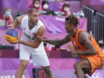 Basket 3×3, Olimpiadi Tokyo: nella prima giornata Serbia e Stati Uniti dominano i due tornei