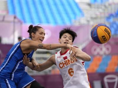 Basket 3×3, Olimpiadi Tokyo: tabellone femminile quarti di finale. L'Italia trova la Cina