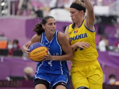 Basket 3×3, Olimpiadi Tokyo: l'Italia trova la seconda vittoria contro la Romania