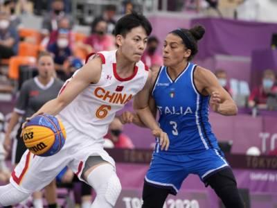 Basket 3×3 Olimpiadi, Italia-Russia: programma, orario, tv, streaming