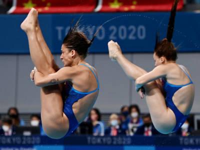 Tuffi, Olimpiadi Tokyo: Bertocchi/Pellacani sognano il bronzo, ma sbagliano e chiudono settime. Oro alla Cina