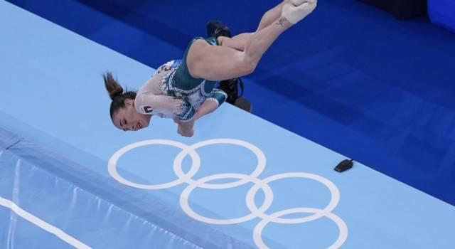 """LIVE Ginnastica artistica, Olimpiadi Tokyo in DIRETTA: Vanessa Ferrari argento! Video esercizio: """"Spero di avere emozionato"""""""
