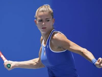 """Tennis, Olimpiadi Tokyo. Camila Giorgi: """"Molto bene oggi. Match diverso da Eastburne, ho limitato gli errori"""""""