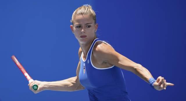 Tennis, Olimpiadi Tokyo: Camila Giorgi supera agevolmente Elena Vesnina e si qualifica per gli ottavi