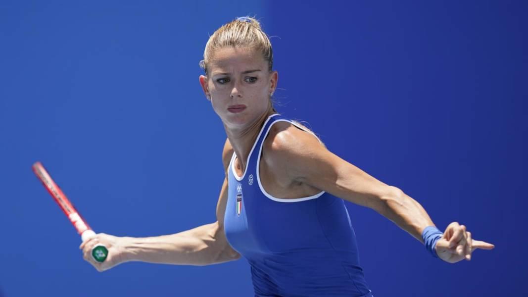 """Tennis, Olimpiadi Tokyo. Camila Giorgi: """"Oggi ho sbagliato tanti attacchi. Ho dato il massimo nonostante la stanchezza"""""""